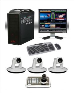 3 Camera Video Switching & Streaming Package