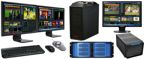 Custom Video Production Switching, Editing & Streaming Computers